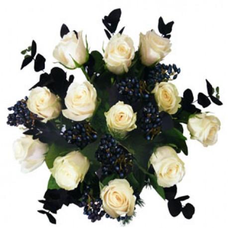 Stunning White Roses