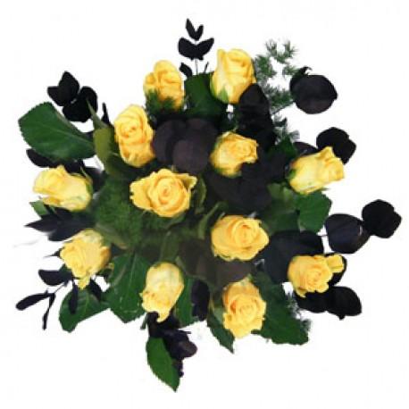 Daringly Yellow Roses