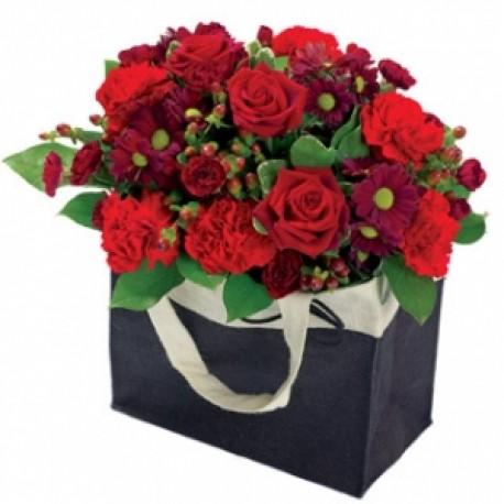 Romantic Bag of Flowers